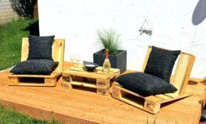 Palettenmöber Terrasse sieht toll aus für jeden Anlass!