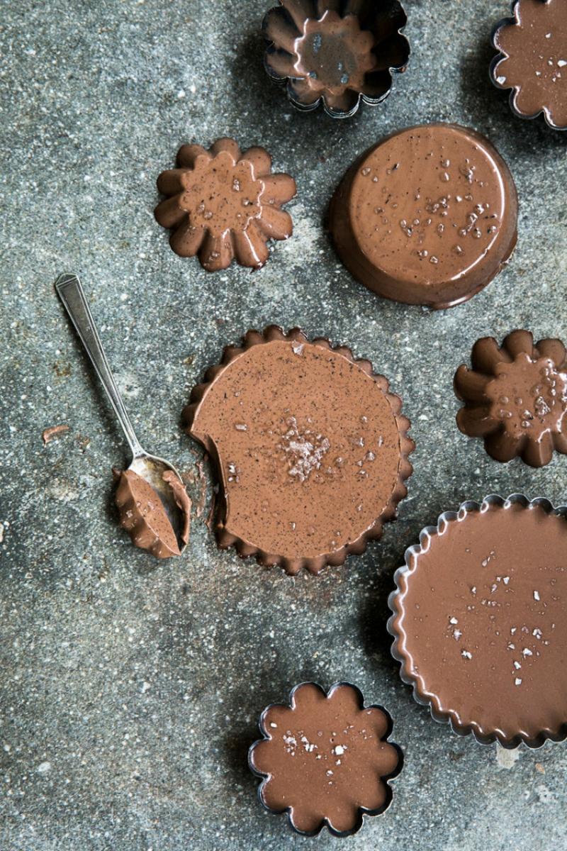 Panna cotta Rezept mit Baileys und Schokolade