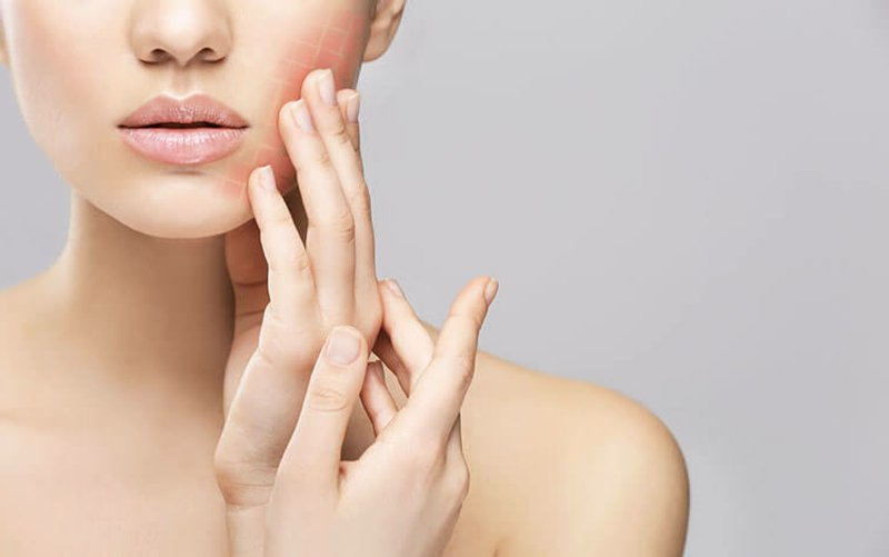 Fruchtsäurepeeling Rezet für empfindliche Haut