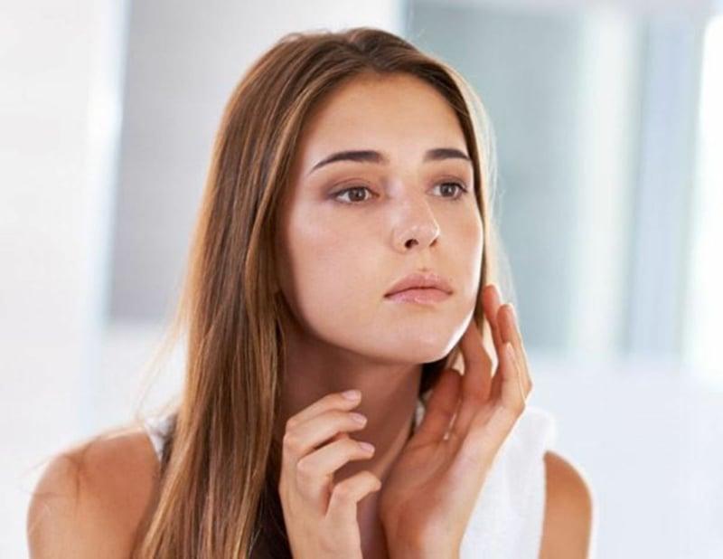 Fruchtsäurepeeling Effekt Hautpflege