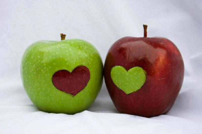 Peeling mit Fruchtsäure Rezept Äpfel
