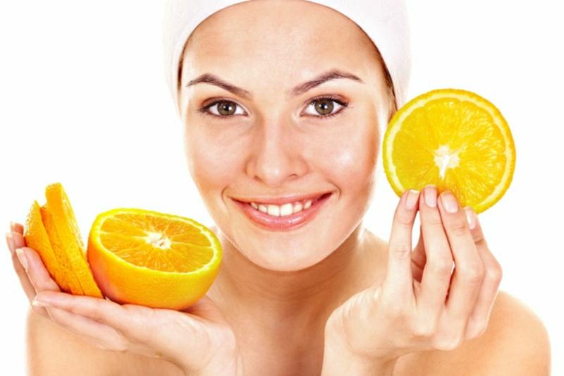 Fruchtsäurepeeling mit Orangen selber zubereiten