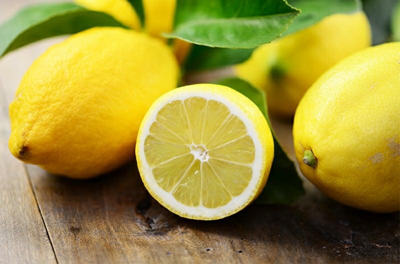 Peeling mit Fruchsäure Rezepte Zitrone