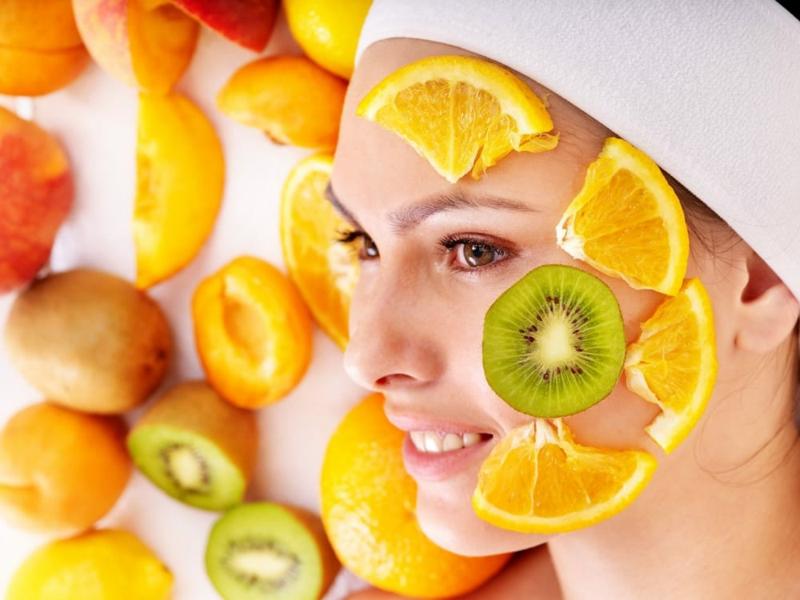 Peeling Gesicht Zitrusfruchtsäure