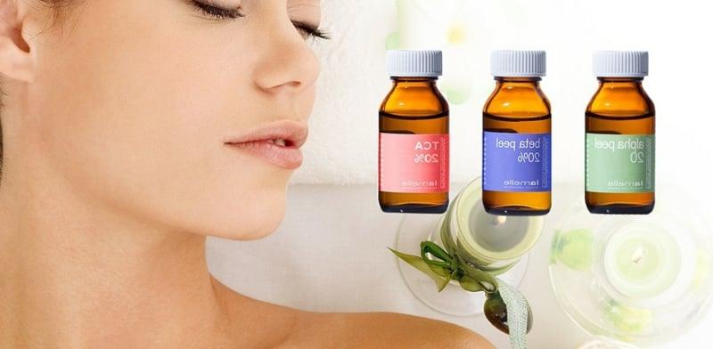 Pflegeprodukte für die Haut mit Fruchtsäure