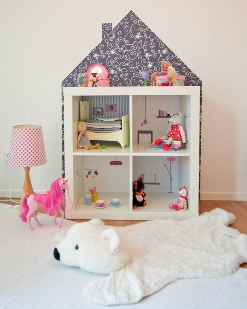 IKEA Hacks Kinderzimmer DIY Puppenhaus
