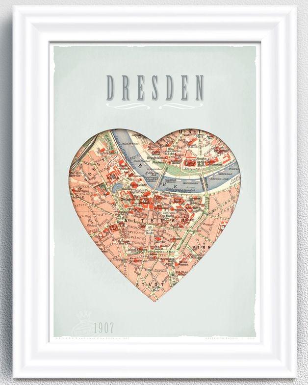 Gutschein selb stgemacht Dresden Reise
