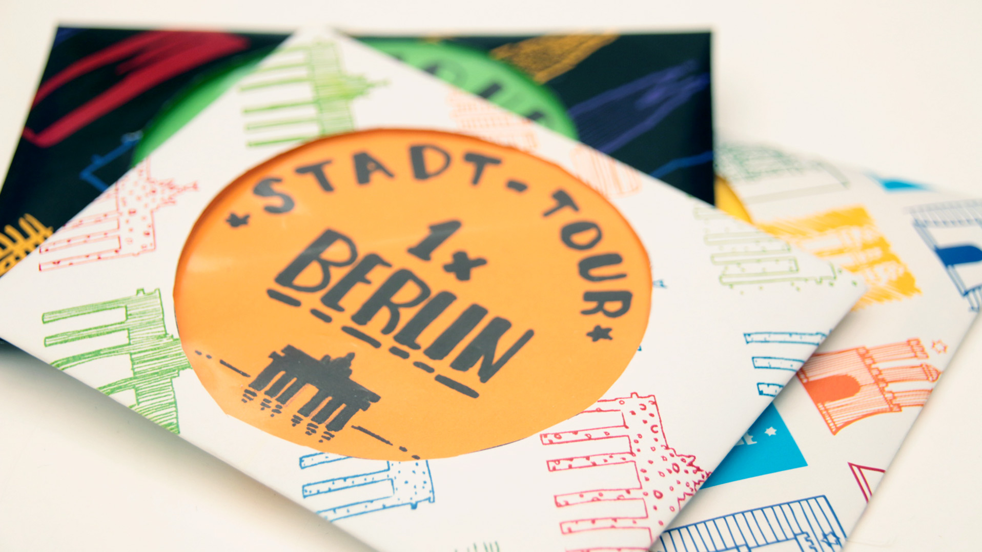 Reisegutschein basteln Berlin Stadttour