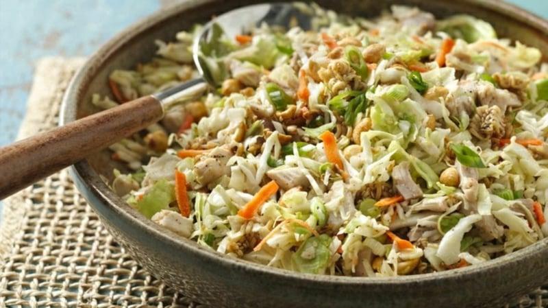 Yum Yum Salat Chinakohl Nudeln Sojasoße