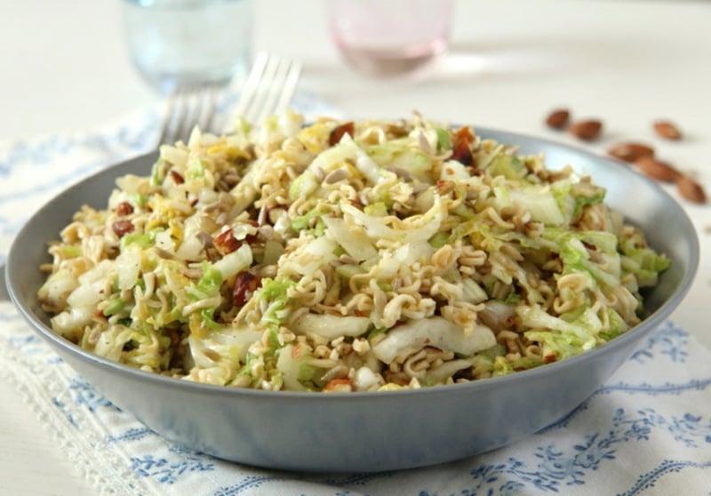 Yum Yum Salat Serviervorschlag
