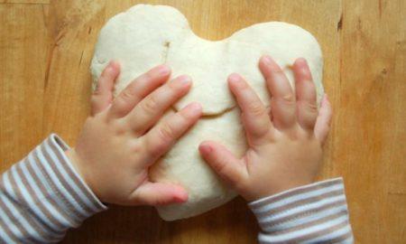 Salzteig Rezept mit Kindern basteln