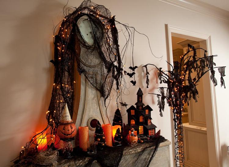 Halloween Deko eindrucksvoll Wohnung