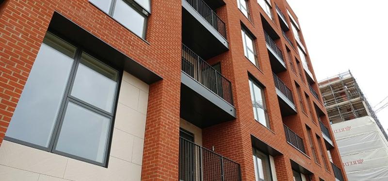 Verkleidung Balkon modern
