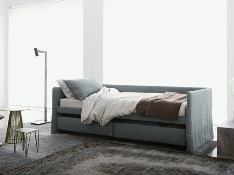 modernes Sofa mit Bettunktion Einzelbett