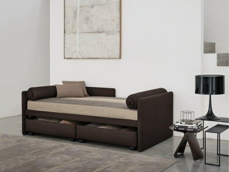 Schlafsofa mit Bettkasten für das Wohnzimmer kaufen