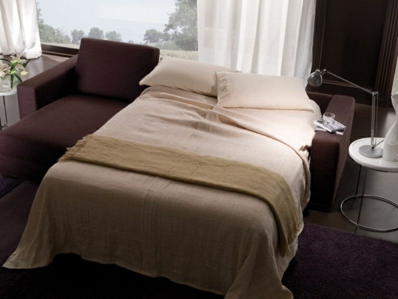 praktisches Sofa mit Bettfunktion Doppelbett