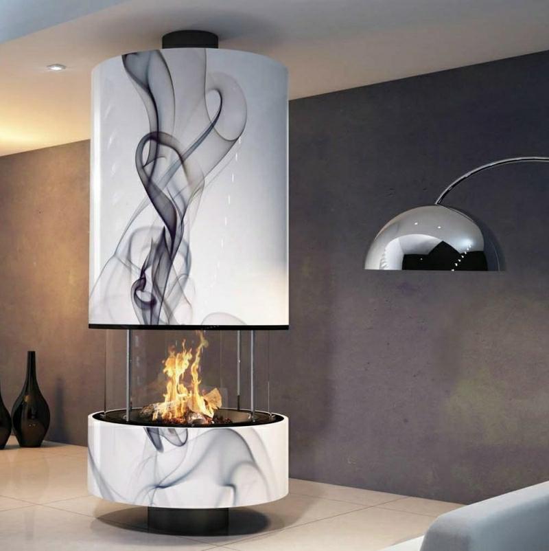 Kaminofen super modern attraktives Design