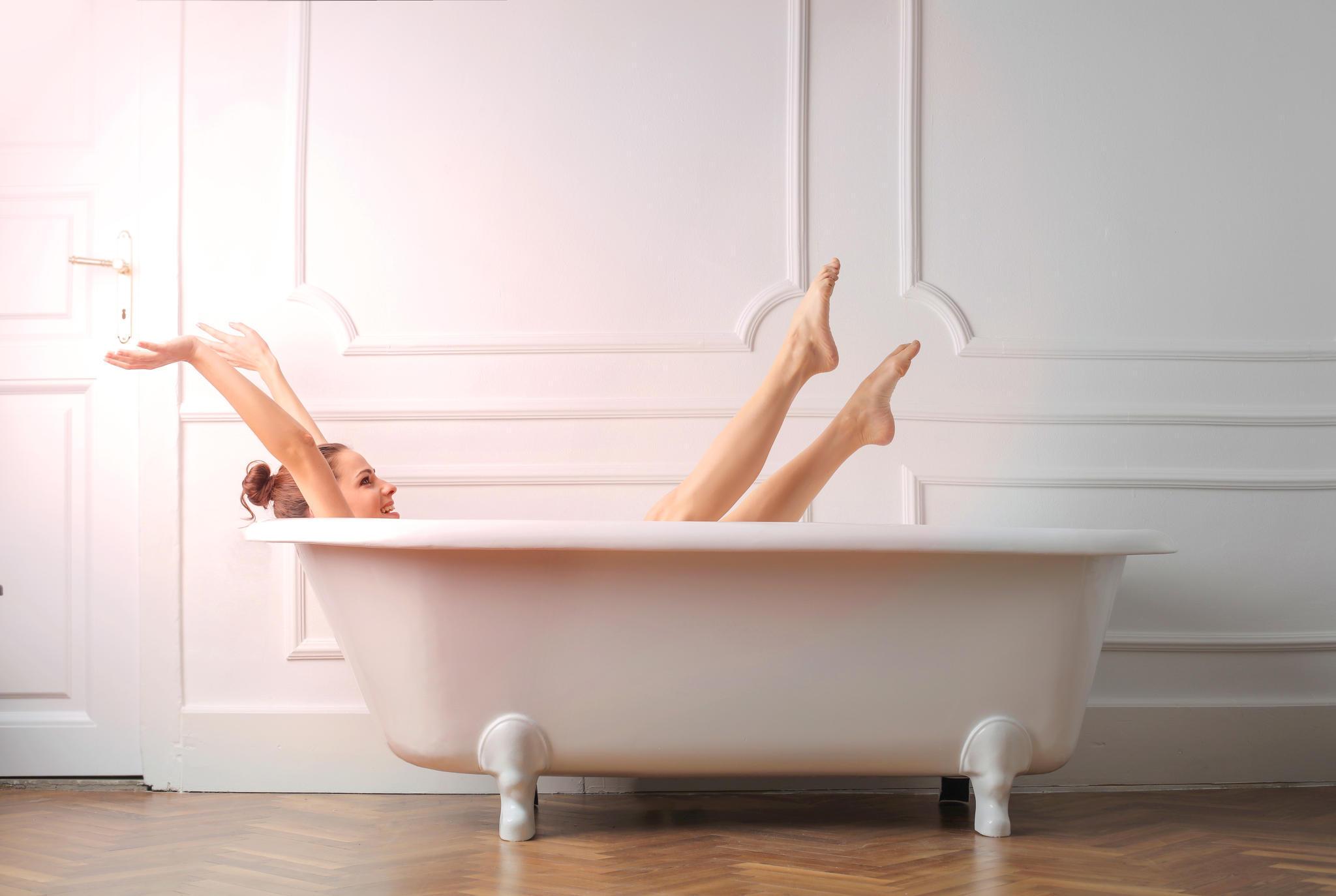 Erkältung sich ein heißes Bad nehmen