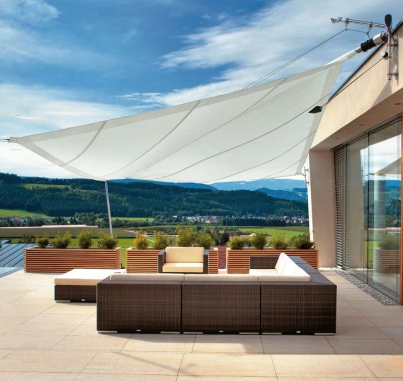 Sonnenschutz Außenbereich Sitzplatz