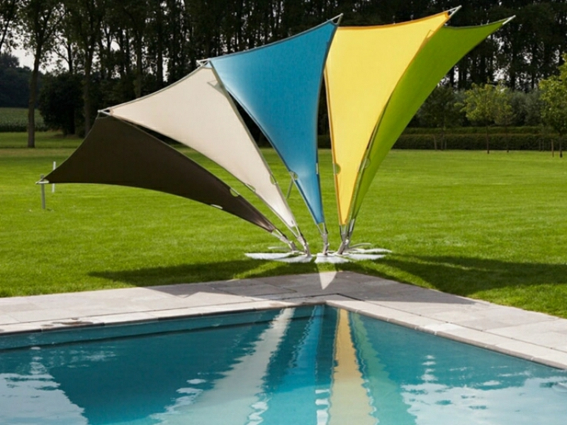 Sonnenschutz mobil Pool