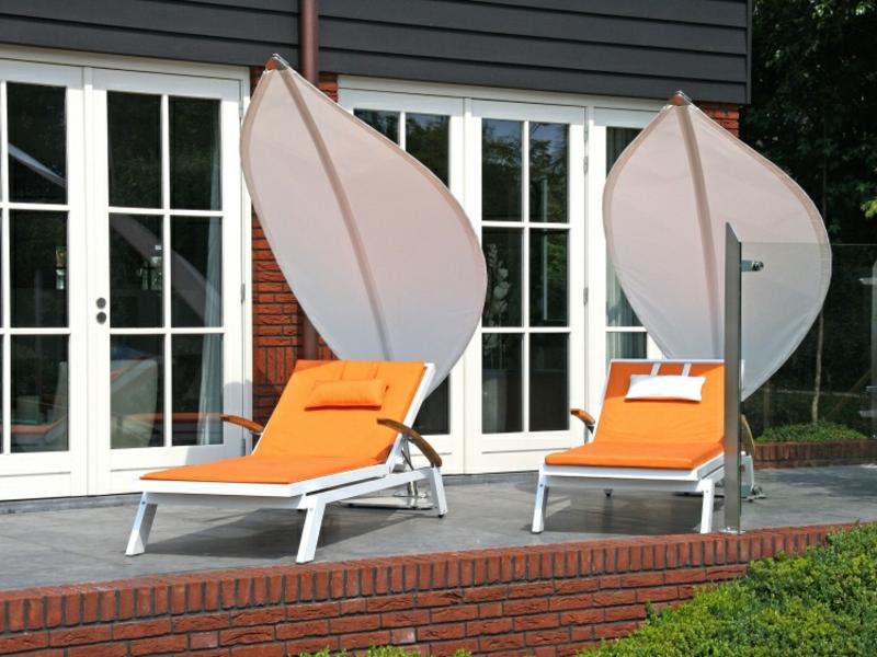 Sonnenschutz mobil Liegestühle