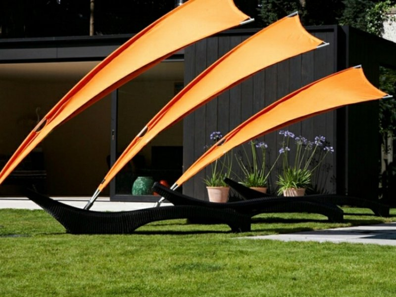 Sonnenschutz attraktive ideen Garten