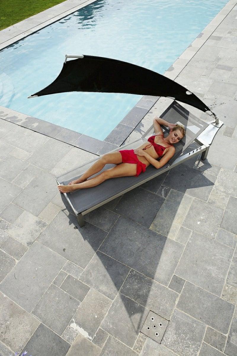 Sonnenschutz Liegestuhl Sommer