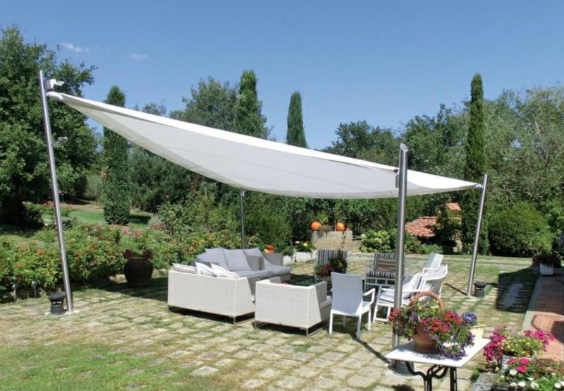 moderne Ideen für Sonnenschutz Sommer