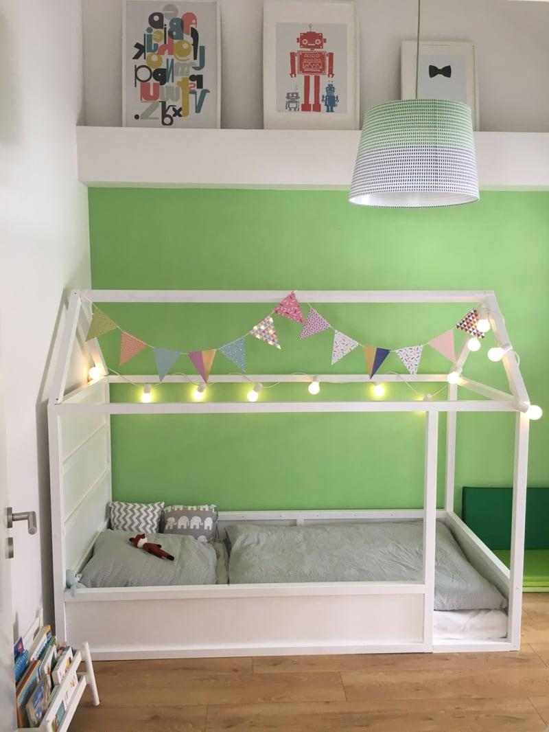 IKEA Hacks Kinderzimmer IKEA Bett umbauen