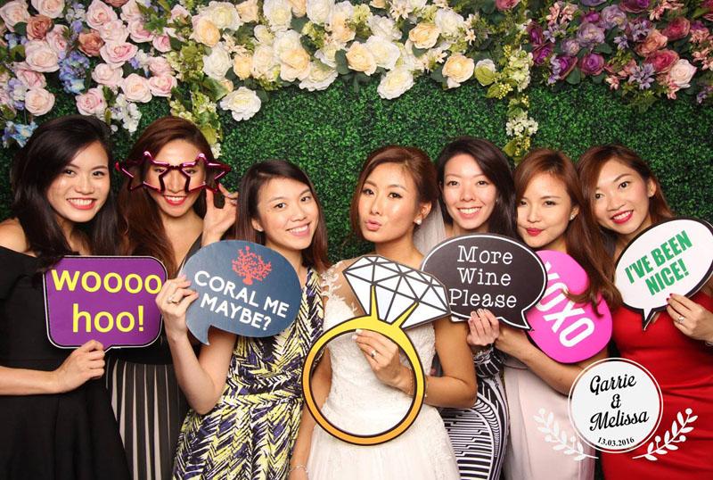 Gästebuch Hochzeit lustige Fotos mit Fotobox