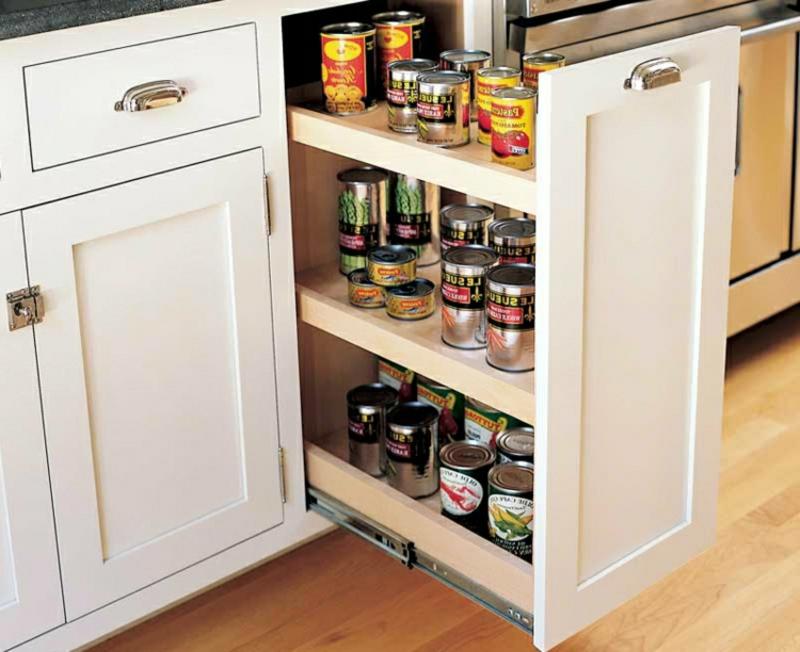 Vorratsschrank mehr Stauraum Küche