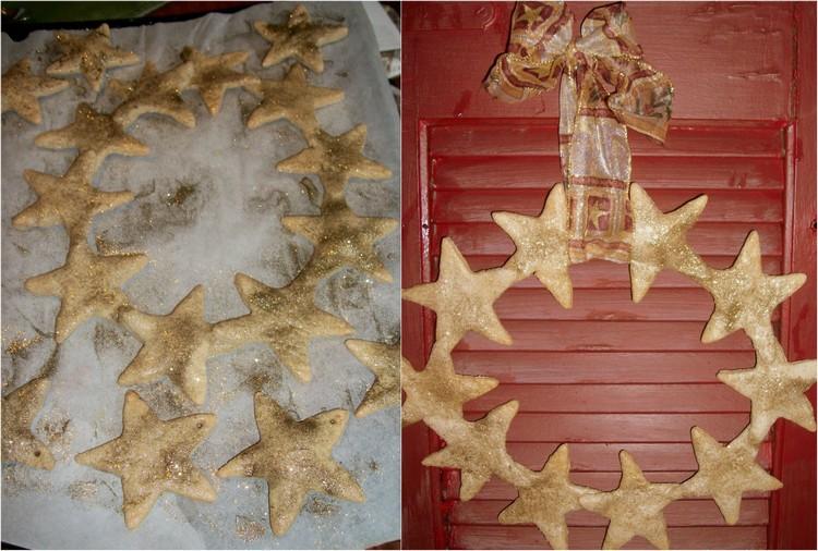 Salzteig Rezept Sterne basteln Weihnachten