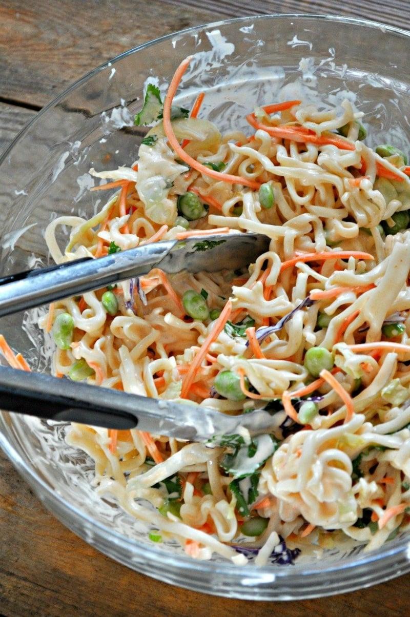 Yum Yum Salat cremig Rezept