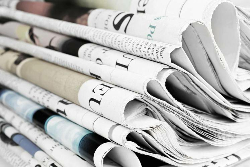 Mülleimer Küche auslegen Zeitungspapier
