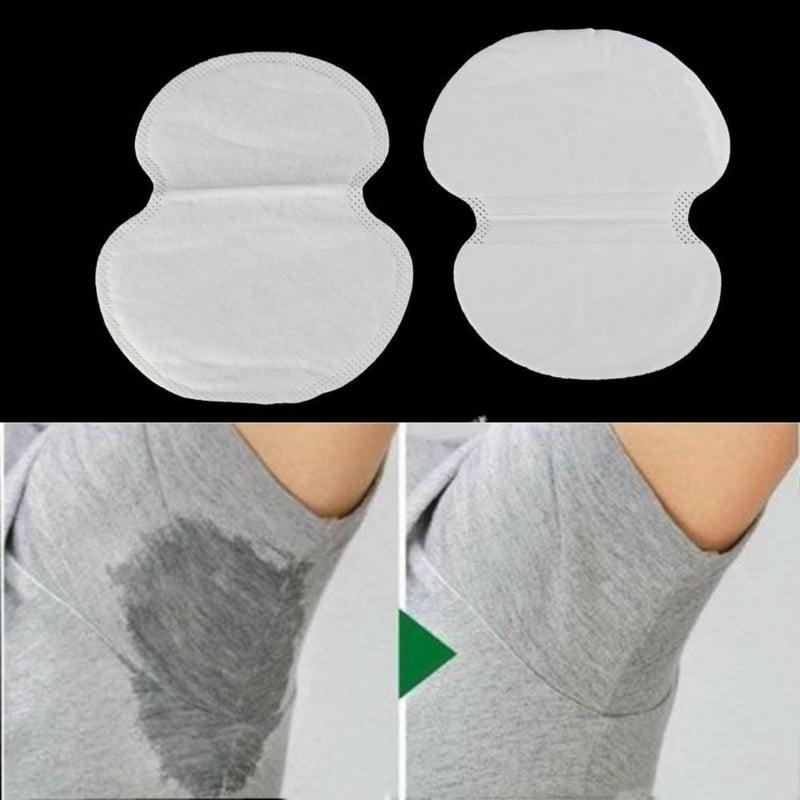 absorbierende Pads verwenden Achseln