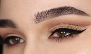 Augen größer schminken unechte Lidfalte betonen