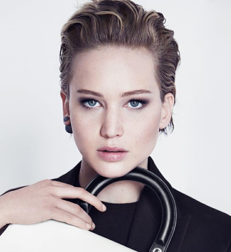 stilvolles Make-up Jennifer Lawrence