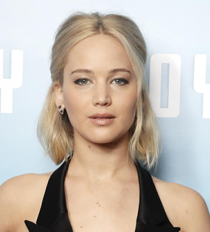 Nude Make-up herrlicher Look Jennifer Lawrence