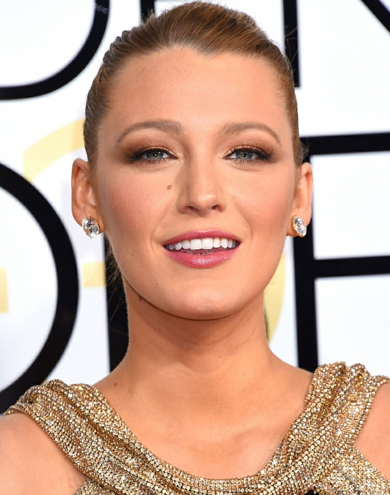 tiefliegende Augen schminken Blake Lively
