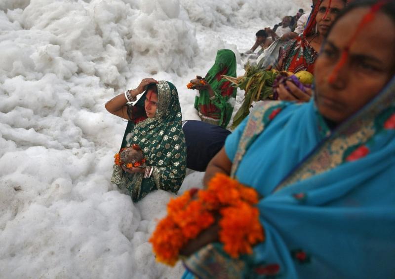 Bilder zum Nachdenken Schnee Frauen