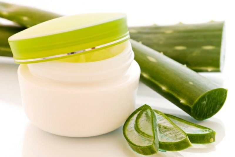 Feuchtigkeitsmaske selber machen mit Aloe Vera