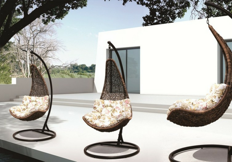 Sessel hängend modernes Design