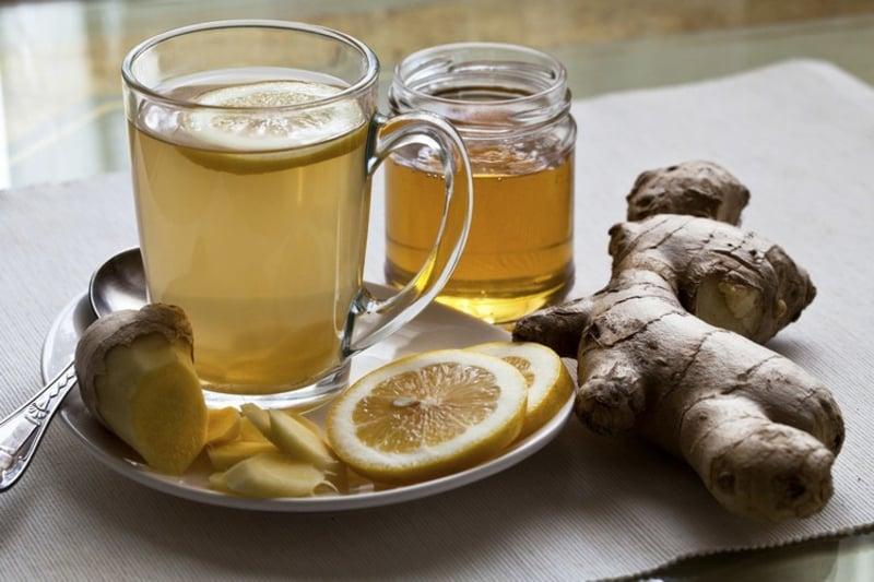 entgiftende Teesorten Ingwer Tee