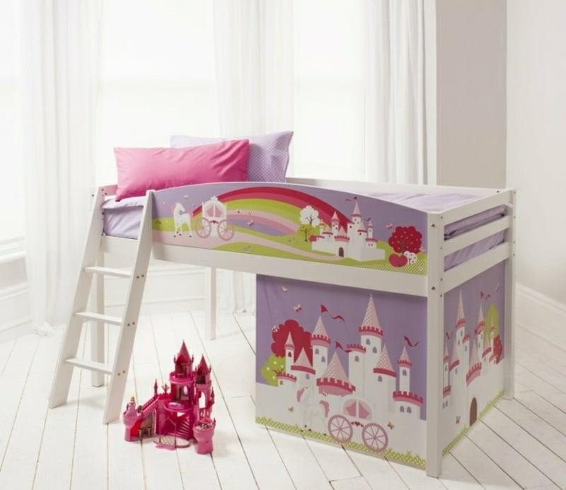 Kinderbett dekorieren zwei Etagen