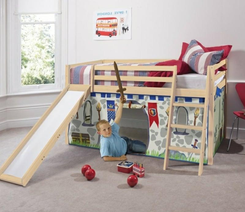 Etagenbett Kinderzimmer Spielplatz tolle Idee