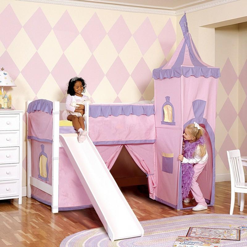 Spielbett Schloss Mädchenzimmer