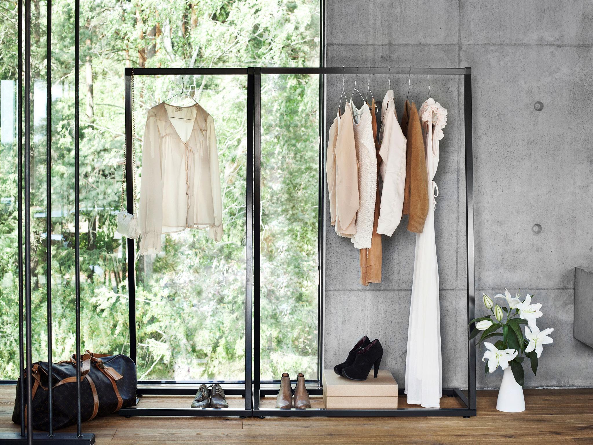 Kleiderstange: stilvoll und praktisch
