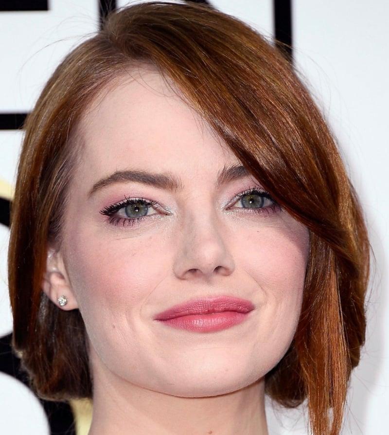 tiefliegende Augen Make-up Emma Stone