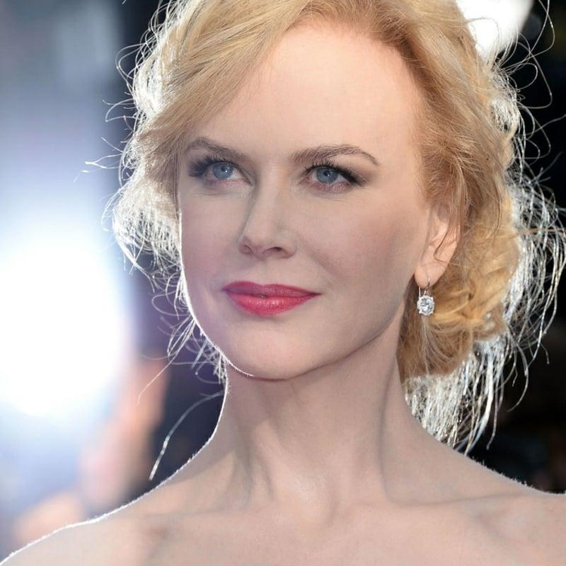 stilvolles Make-up Nicole Kidman