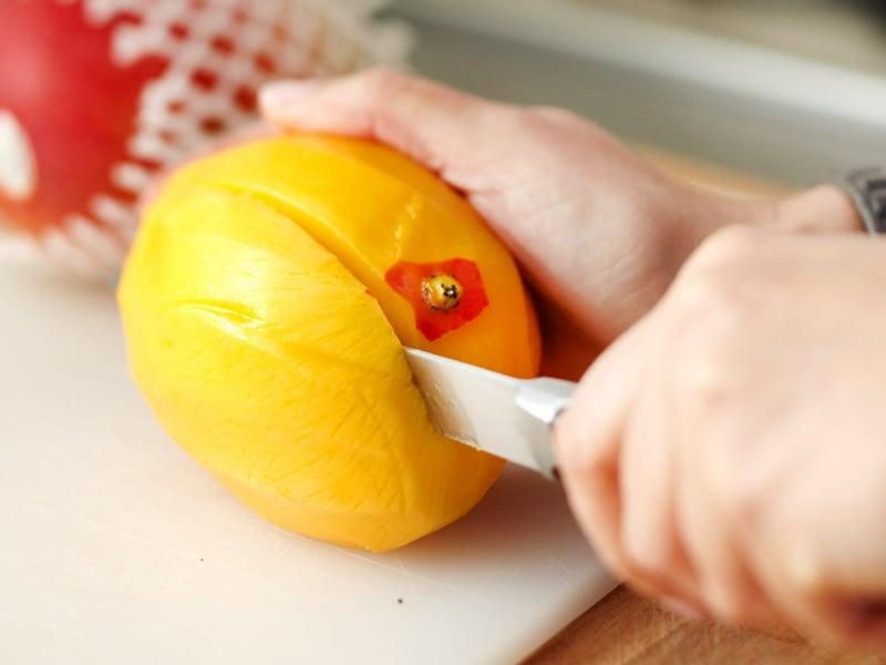 Feuchtigkeitsmaske selber machen mit Mango